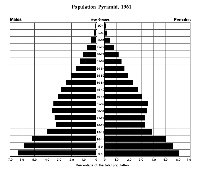 Quebec Population Pyramid a Population Pyramid is a